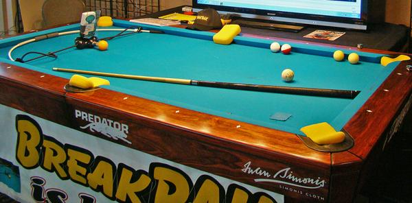 Break Speed Radar for billiards from Sports sensors